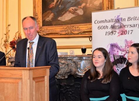 60th Celebration of Comhaltas in Britain October 16th 2017. Gerry Molumby (10).JPG