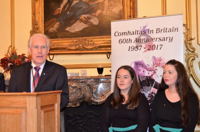 60th Celebration of Comhaltas in Britain October 16th 2017. Gerry Molumby (9).JPG