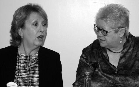 Mary Mc Aleese and Jane Winter at Troubles Tragedy and Trauma Hammersmith January 30th 2016 Gerry Molumby (22) - Copy