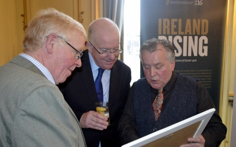 Minister Charlie Flanagan TD Wed 7th Dec 2016 at a reception on Easter Rising Commemorations  (8).JPG