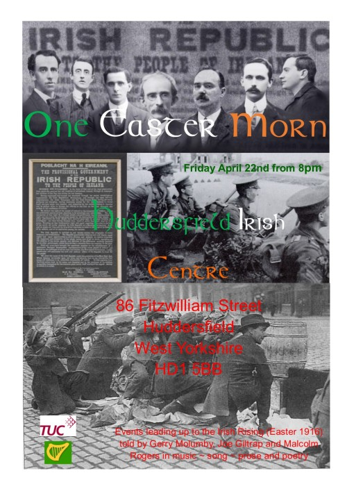One Easter Morn poster Huddersfield Irish Centre.jpg