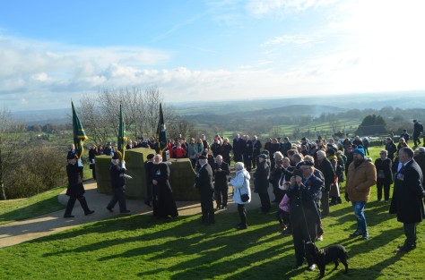 Sherwood Foresters Rememberance 2017. Crich Monument Derbyshire . Gerry Molumby (10).JPG