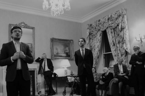 Embassy Reception for Irish Chaplaincy 60th Anniversary November 27th 2017. Gerry Molumby (3) - Copy