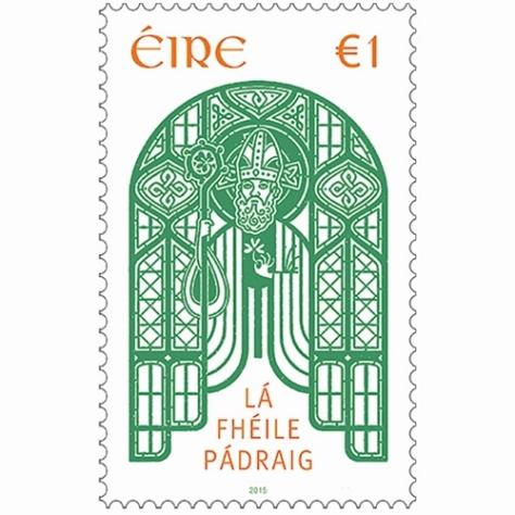 St Patrick's Day Stamp 2015