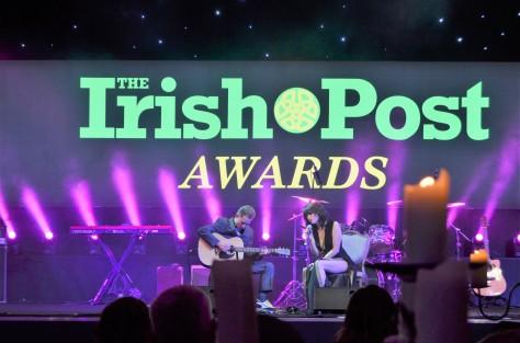 Irish Post Awards Grosvenor House Hotel London November 23rd 2017 Gerry Molumby (7).JPG