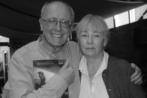 Niall Buggy with Geraldine McEwan at the Hampstead Theatre (Druid Trilogy)
