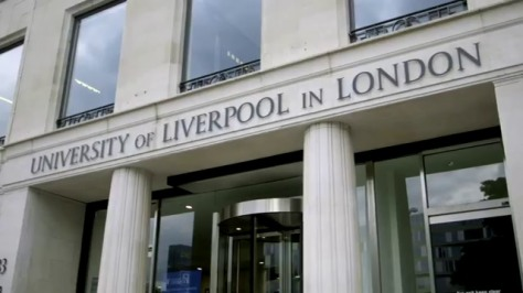 Universty of Liverpool in London