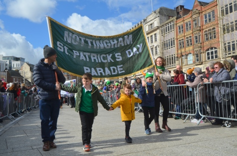Saint Patrick's Day Nottingham 2018 Gerry Molumby (7)