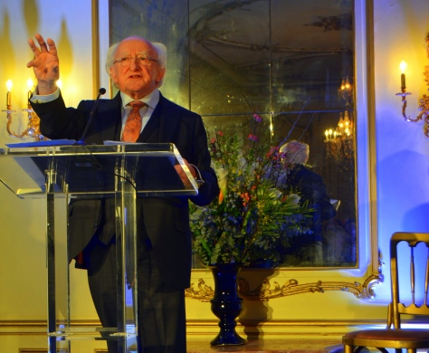 St. Brigid Day Embassy of Ireland February 1st 2018 Gerry Molumby (1)