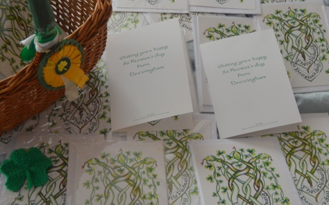 Nottingham prisoners receive St. Patrick's Day cards unique to Nottingham designed by local artist Kerry Richardson (1)